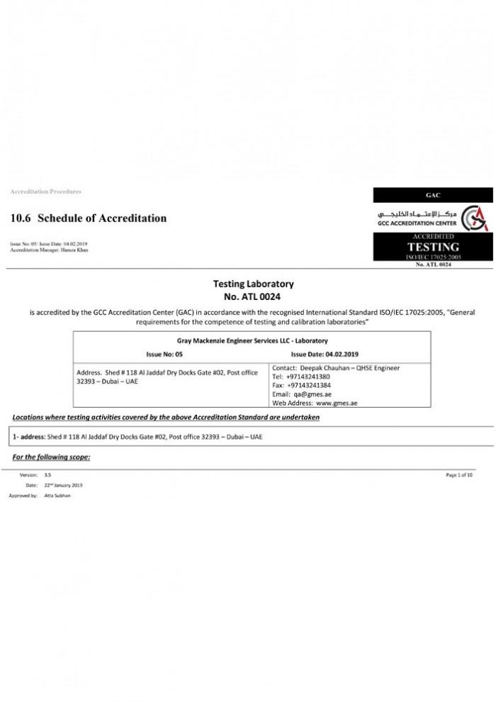 GAC Accreditation