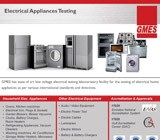 Electrical Appliances Testing